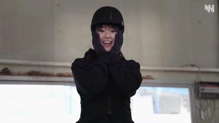한국에서 승마 배우는 카라타 에리카