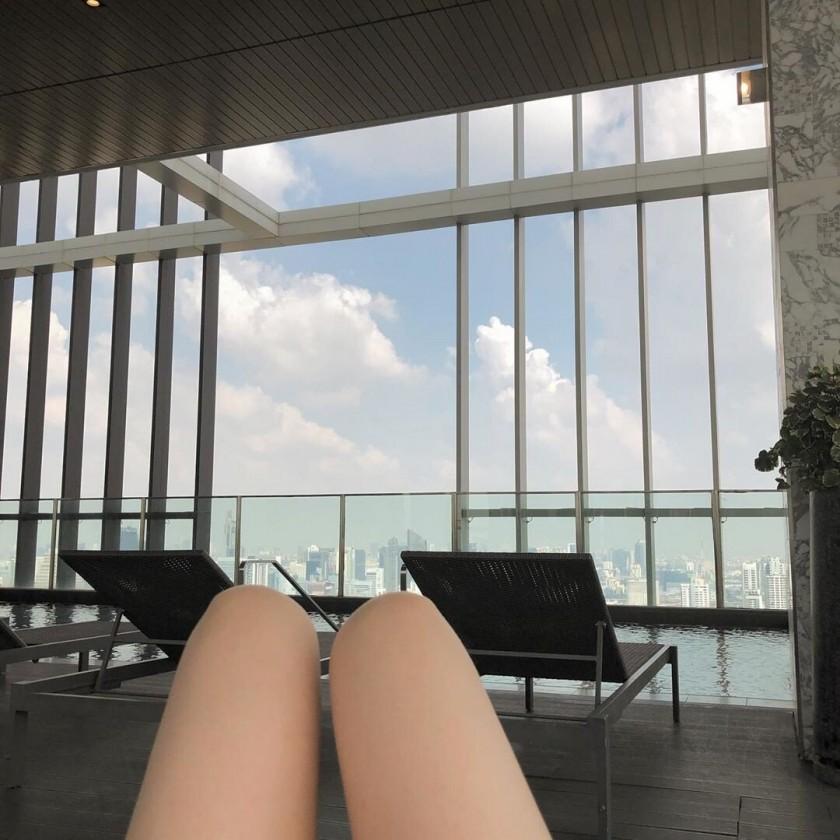 최근 방민아 인스타 수영복