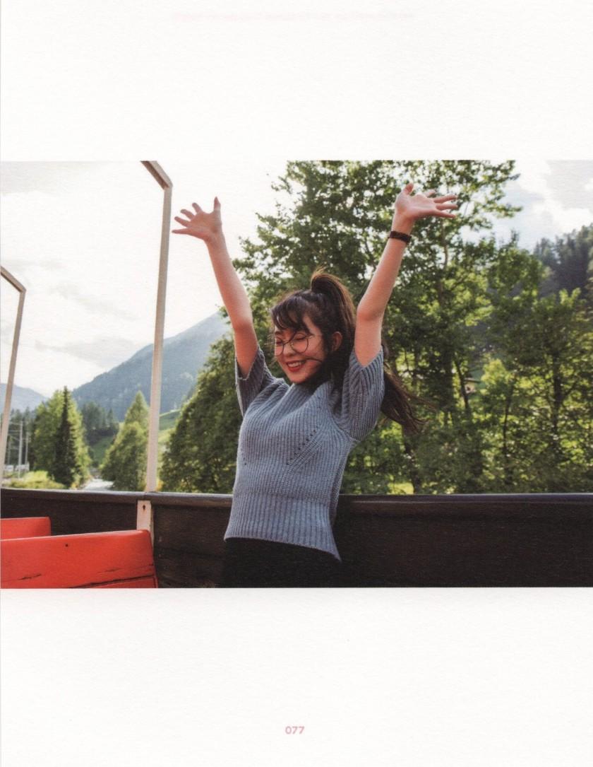 레드벨벳 스위스 스캔 아이린 나온 사진들
