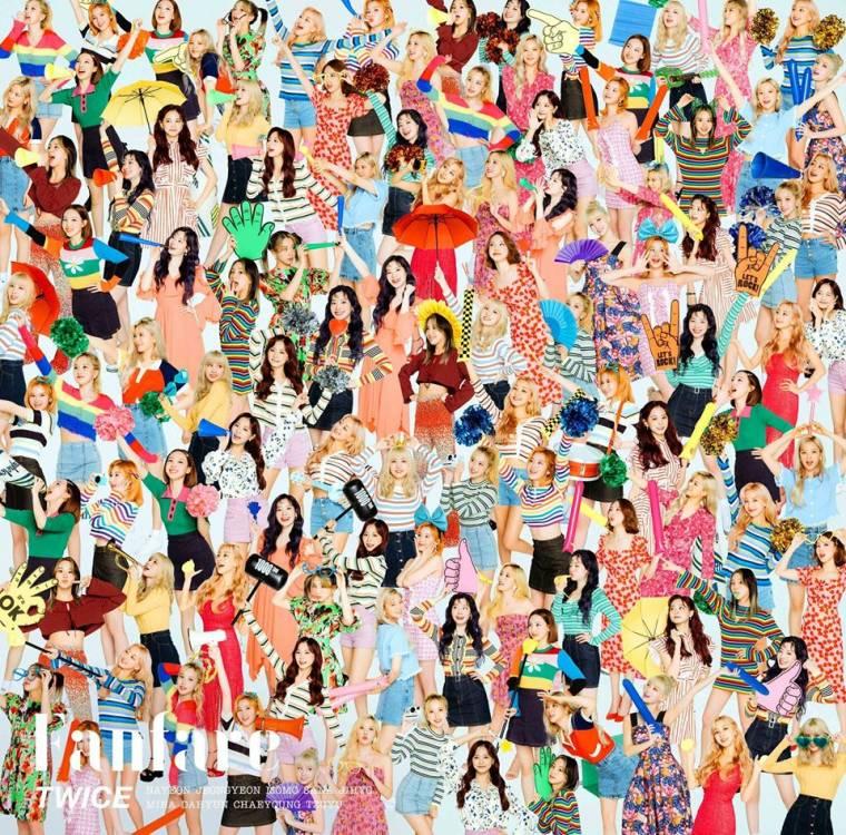 트와이스 일본 싱글 앨범 재킷