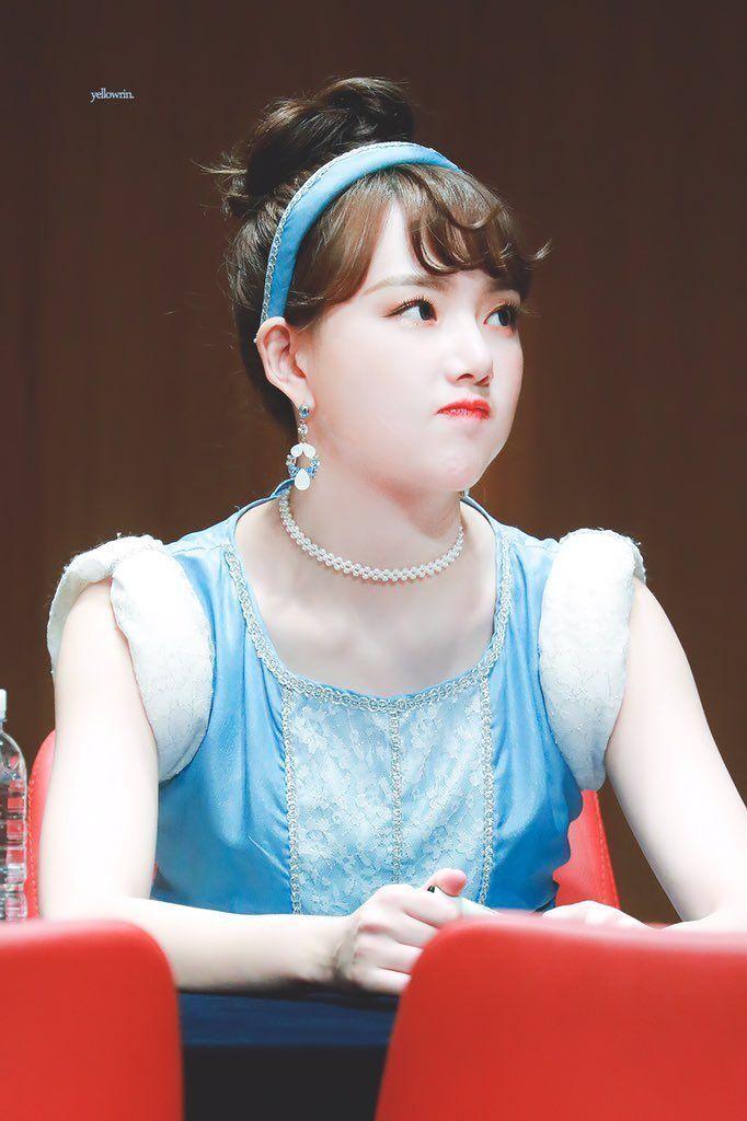 여자친구 예린이