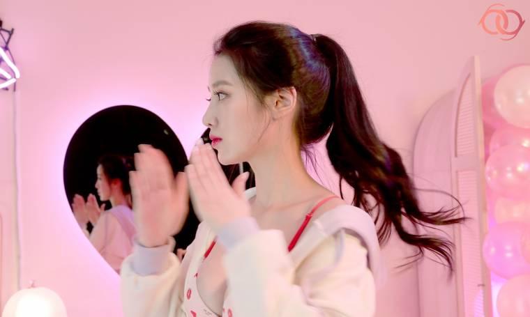 베리굿 조현 'YES' 속옷 광고 촬영 현장 비하인드